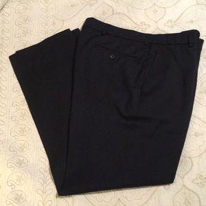 Ballin navy wool dress pants 34 x 30